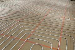 Installation de plancher chauffant Annemasse