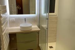 Renovation de salle de bains a Reignier
